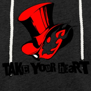 take your heart - Leichtes Kapuzensweatshirt Unisex