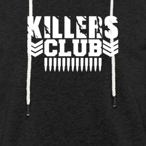 club de Killers - Sweat-shirt à capuche léger unisexe