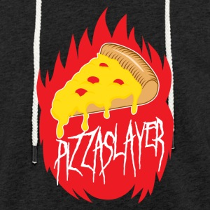 Pizza Slayer - Kevyt unisex-huppari