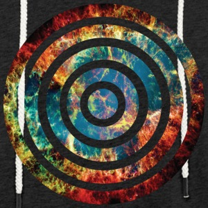 round rings with explosion - Light Unisex Sweatshirt Hoodie