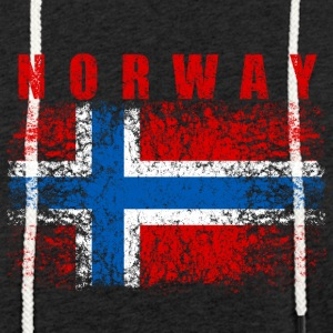 Norway Flag 008 AllroundDesigns - Light Unisex Sweatshirt Hoodie