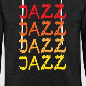 jazz - Sweat-shirt à capuche léger unisexe