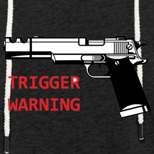 Anti-Snowflake Trigger Warning Collection - Lett unisex hette-sweatshirt