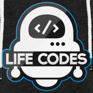 Life Codes Robot - Light Unisex Sweatshirt Hoodie