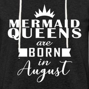 Mermaid Queens august - Lett unisex hette-sweatshirt