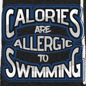 Calories are allergic to swimming 2 - Light Unisex Sweatshirt Hoodie