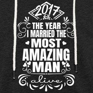 Wedding 2017 - Best man - Light Unisex Sweatshirt Hoodie