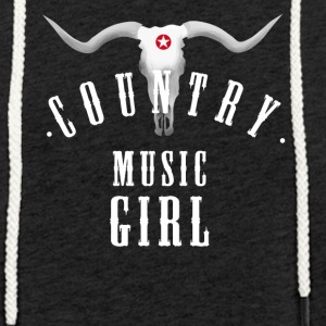 country music girl longhorn girl dance linedance - Leichtes Kapuzensweatshirt Unisex