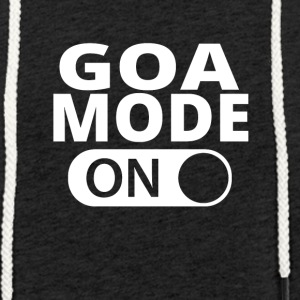 MODE ON GOA - Let sweatshirt med hætte, unisex