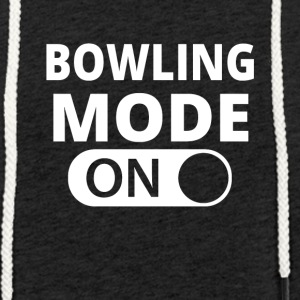 MODE ON BOWLING - Light Unisex Sweatshirt Hoodie