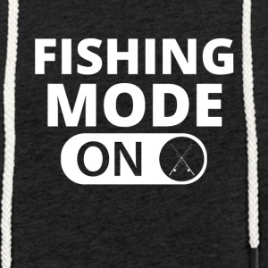 MODE ON FISHING - Leichtes Kapuzensweatshirt Unisex