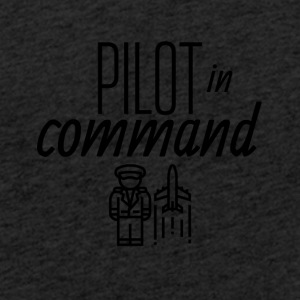 Pilot in command - Light Unisex Sweatshirt Hoodie