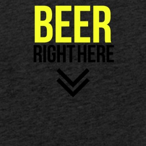 Beer right here - Light Unisex Sweatshirt Hoodie