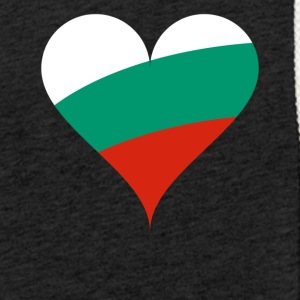 BULGARIA HEART T-SHIRT - Light Unisex Sweatshirt Hoodie