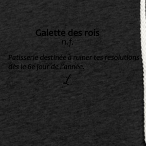 Gallette des rois - Sweat-shirt à capuche léger unisexe