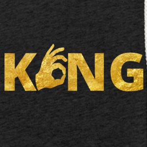 Kongen Perfect Gold - Lett unisex hette-sweatshirt