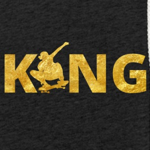Skateboard King Gold Skater - Light Unisex Sweatshirt Hoodie