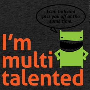 I'm Multi-talented,I Can Piss You Off While I Talk - Light Unisex Sweatshirt Hoodie