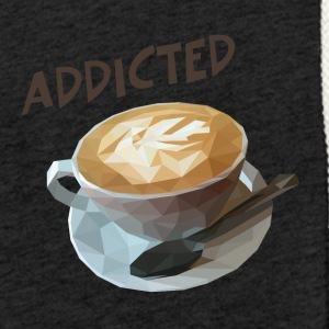 coffee addiction - Sudadera ligera unisex con capucha