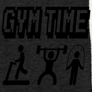 gym time - Light Unisex Sweatshirt Hoodie