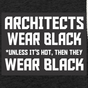 Architectwear black dark - Light Unisex Sweatshirt Hoodie