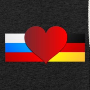 Russia & Germany - Light Unisex Sweatshirt Hoodie