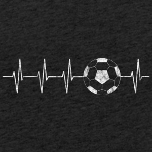 Soccer heart beat - football playing passion - Light Unisex Sweatshirt Hoodie