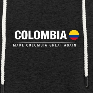 Make Colombia Great Again - Lätt luvtröja unisex