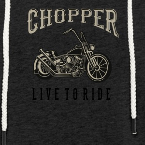 chopper - Light Unisex Sweatshirt Hoodie