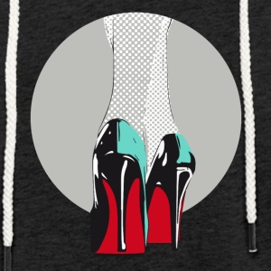 High heels sales manolos pop sexy model catwalk - Light Unisex Sweatshirt Hoodie