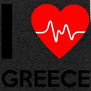 I Love Greece - I love Greece - Light Unisex Sweatshirt Hoodie