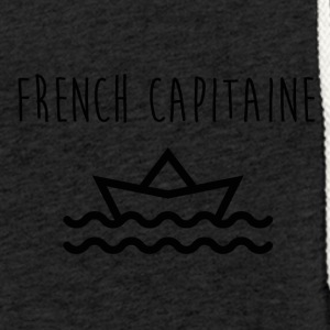 French Capitaine by Ruuud - Sweat-shirt à capuche léger unisexe