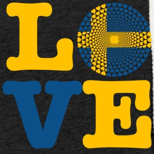 SWEDEN HEART - Light Unisex Sweatshirt Hoodie