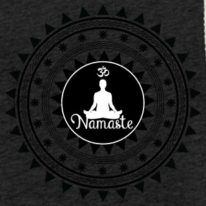 ornement namaste - Sweat-shirt à capuche léger unisexe