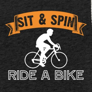Sit and Spin Ride a Bike - Light Unisex Sweatshirt Hoodie