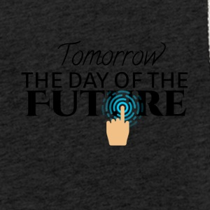 Tomorrow is the day of the future - Light Unisex Sweatshirt Hoodie