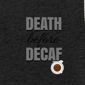 Death before Decaf - Leichtes Kapuzensweatshirt Unisex