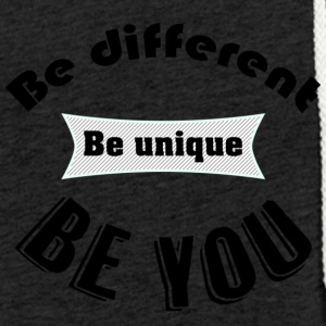 T - Be You - Sweat-shirt à capuche léger unisexe