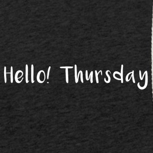 Hello Thursday - Leichtes Kapuzensweatshirt Unisex