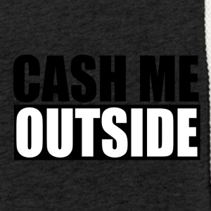 cash me outside - Leichtes Kapuzensweatshirt Unisex