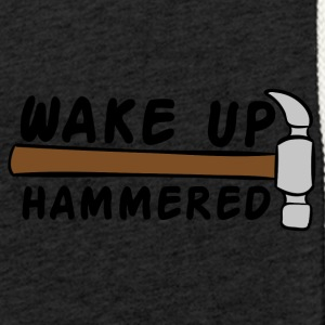 Roofing: Wake Up Hammered - Light Unisex Sweatshirt Hoodie