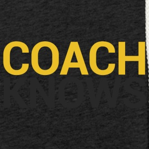 Coach / Entraîneur: Coach Knows - Sweat-shirt à capuche léger unisexe