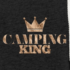 Outdoor · Camping · Camping Koning - Lichte hoodie unisex