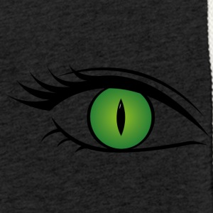 Eye - All-seeing women's eye - Light Unisex Sweatshirt Hoodie