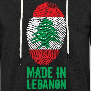 Made in Libanon / Made in Libanon اللبنانية - Lätt luvtröja unisex