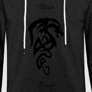 Tribal Dragon - Kevyt unisex-huppari