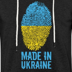 Made in Ukraine / Made in Ukraina Україна - Kevyt unisex-huppari