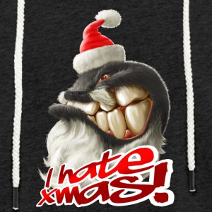 I hate Xmas - Light Unisex Sweatshirt Hoodie