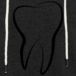 tooth - Light Unisex Sweatshirt Hoodie