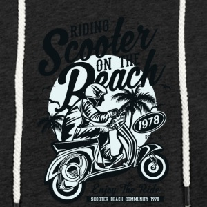 moped - Light Unisex Sweatshirt Hoodie